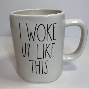RAE DUNN CERAMIC I WOKE UP LIKE THIS MUG